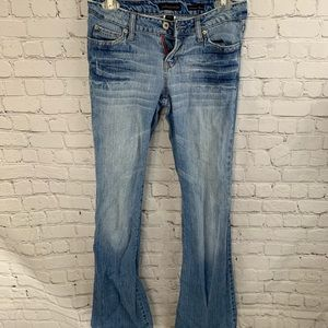 Aeropostale Authentic flare denim jeans long